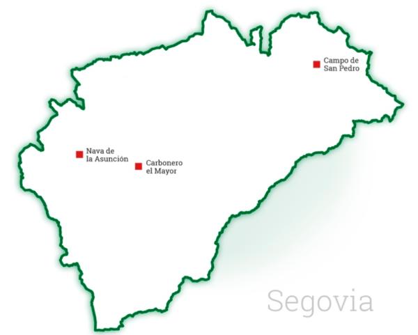 Centros de distribución Mesenor